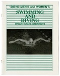 Wright State University Men's and Women's Swimming and Diving Media Guide 1989-1990