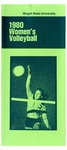 Wright State University Women's Volleyball Media Guide 1980