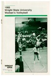 Wright State University Women's Volleyball Media Guide 1985
