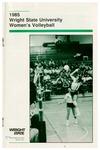 Wright State University Women's Volleyball Media Guide 1985 by Wright State University Athletics