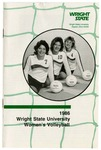 Wright State University Women's Volleyball Media Guide 1986