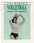 Wright State University Women's Volleyball Media Guide 1989