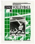 Wright State University Women's Volleyball Media Guide 1990