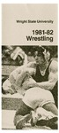 Wright State University Wrestling Media Guide 1981-1982 by Wright State University Athletics