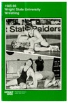 Wright State University Wrestling Media Guide 1985-1986 by Wright State University Athletics