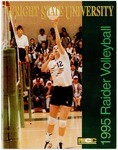Wright State University Raider Volleyball Media Guide 1995 by Wright State University Athletics