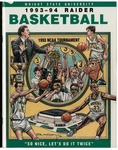 Wright State University Basketball Media Guide 1993-1994 by Wright State University Athletics
