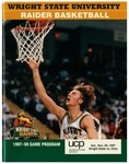 Wright State University vs. Ohio University Basketball Program 1997-1998 by Wright State University Athletics
