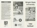 Wright State University Softball Media Guide 1992 by Wright State University Athletics