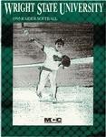 Wright State University Softball Media Guide 1995 by Wright State University Athletics