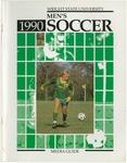 Wright State University Men's Soccer Media Guide 1990 by Wright State University Athletics
