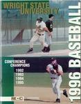 Wright State University Baseball Media Guide 1996