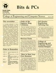 Wright State University College of Engineering and Computer Science Bits and PCs newsletter, March 1989 by Wright State University College of Engineering and Computer Science