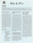 Wright State University College of Engineering and Computer Science Bits and PCs newsletter, November 1989