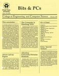 Wright State University College of Engineering and Computer Science Bits and PCs newsletter, February 1990