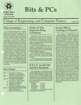 Wright State University College of Engineering and Computer Science Bits and PCs newsletter, April 1990