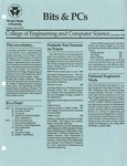 Wright State University College of Engineering and Computer Science Bits and PCs newsletter, November 1990