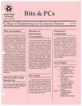 Wright State University College of Engineering and Computer Science Bits and PCs newsletter, April 1991
