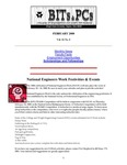 Wright State University College of Engineering and Computer Science Bits and PCs newsletter, Volume 16, Number 2, February 2000