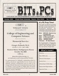 Wright State University College of Engineering and Computer Science Bits and PCs newsletter, Volume 17, Number 2, October 2000
