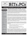 Wright State University College of Engineering and Computer Science Bits and PCs newsletter, Volume 19, Number 2, November 2002