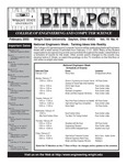 Wright State University College of Engineering and Computer Science Bits and PCs newsletter, Volume 19, Number 4, February 2003