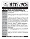 Wright State University College of Engineering and Computer Science Bits and PCs newsletter, Volume 19, Number 6, April 2003