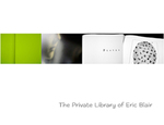 The Private Library of Eric Blair by Ronald R. Geibert