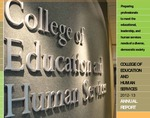College of Education and Human Services 2012-2013 Annual Report by College of Education and Human Services
