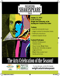 Encountering Shakespeare - Gala Flyer