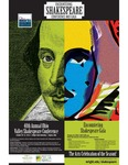 Encountering Shakespeare - Poster with Sticker