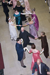 Attendees dancing at the Pride and Prejudice Regency Ball