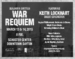 Benjamin Britten War Requiem Theatre Ad