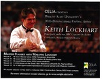 Maestro Keith Lockhart Residency Flyer