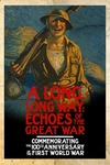 A Long, Long Way: Echoes of the Great War - Off-Campus Poster