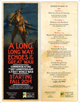 A Long, Long Way: Echoes of the Great War - Small Poster by CELIA