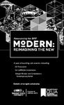 Modern: Re-imagining the New - 1/2 Page Program Ad by CELIA