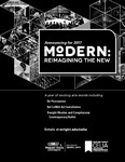 Modern: Re-imagining the New - Full Page Program Ad