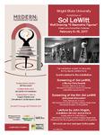 Modern: Re-imagining the New - Sol LeWitt Flyer