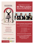 Modern: Re-imagining the New - So Percussion Festival and Residency by CELIA