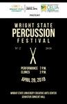 Wright State Percussion Festival - Program by CELIA