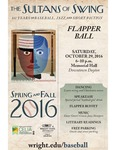 Sultans of Swing: Flapper Ball - Vista Poster