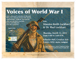 Voices of World War I Poster