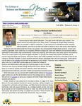 College of Science and Mathematics Newsletter, Fall 2014