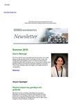 College of Science and Mathematics Newsletter, Summer 2016