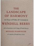 The Landscape of Harmony
