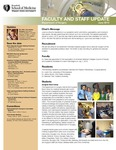 Faculty and Staff Updates, Department of Surgery, June 2013
