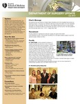 Department of Surgery Update, July 2013