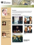 Department of Surgery Update, October 2013
