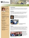 Department of Surgery Update, November 2013